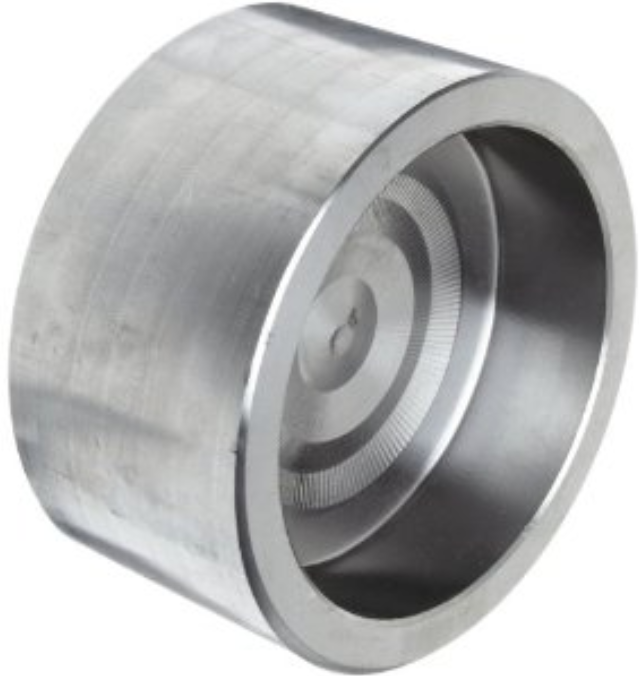 316/316L Forged Stainless Steel Pipe Fitting, Cap, Socket Weld, Class 3000, 3/4