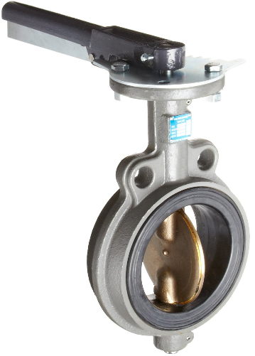 Butterfly Valve - Cast Iron, International, Wafer, Bronze Disc